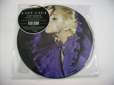 """LADY GAGA - JUST DANCE - 7"""" PICTURE DISC VINYL BRAND NEW 2008"""