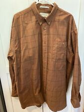 Orvis Men's Button Up Long Sleeve Shirt XXL