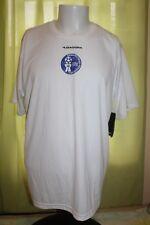NWT Diadora Dia Dry Guam Football Association Men's White Athletic Shirt Large