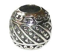 Sterling Silver Rhona Sutton Fancy Swirl Charm Bead