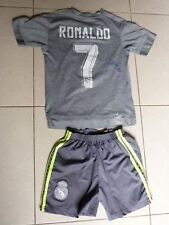 Maillot + Short  REAL MADRID CF signed CRISTIANO RONALDO foot ultras CR7 signé