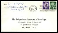 1957 US Business Reply Cover - The Polytechnic Institute Of Brooklyn, NY B6
