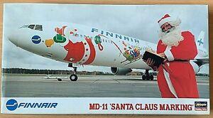 "1/200 Airliner: MDC MD-11 ""Santa Claus"" Finnair [Finland] #51655 : HASEGAWA"