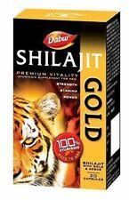 Dabur Shilajit Gold for strength, stamina & power for MEN - 20 capsules/Pack