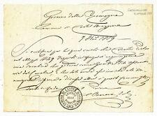 GG379-GOVERNO DELLE ROMAGNE-DOC.DA CASTELMAGGIORE (BO) 1859