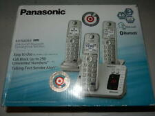 new Panasonic KX-TGE263 link-to-cell telephone handsets Bluetooth phone tge 263s