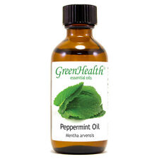 2 fl oz Peppermint Essential Oil 100% Pure - GreenHealth