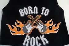 """DOG SHIRT """"BORN TO ROCK"""" , BRAND NEW, Dog Apparel/Clothes/Sweater"""