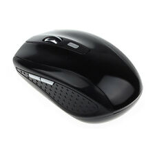 NEW Portable 2.4G Wireless Optical Game Mouse Mice For Computer PC Laptop Black