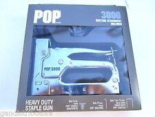 Stanley / Emhart Pop 3000, 3-in-1 Heavy Duty Stainless Steel Staple Gun, New