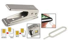 Regular Cortador Tarjeta SIM A NANO 5/5S/5C/6 Plus+2 Adaptador Para iPhone