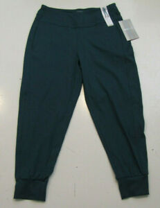 MONDETTA Womens Deep Teal Green Active Jogger Pants Size Small S NWT