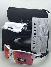 New OAKLEY Sunglasses FLAK 2.0 XL OO9188-03 White Frame w/ Prizm Baseball Lenses