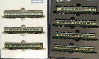 Tomix 92037 + 92038 Spur N JR Salonwagenzug NANIWA 7-teilig PC Series 14.700