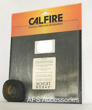Calfire Replacement Stove Glass Charnwood Inset  FREE Thermal Tape (200 x 160)