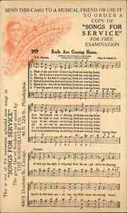 Gospel Sheet Music SONGS FOR SERVICE Rodeheaver Co Souls Are Coming Home PC
