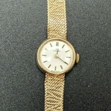 Ladies Vintage 9ct Yellow Gold Omega Watch - Good Condition and still working