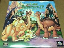 The Land Before Time IV Laserdisc LD THE: JOURNEY THROUGH THE MISTS BRAND NEW
