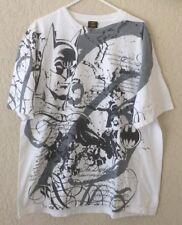 Batman T-Shirt Men's Size 2XL The Dark Knight Black & White