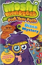 Moshi Monsters: Pick Your Path - Disco Mystery (paperback)