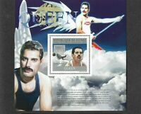 Queen -Freddie Mercury 2010 Special postage stamp sheet-mnh as new