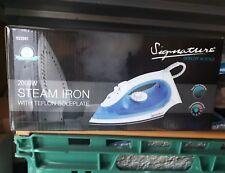 Signature S22001 Non Stick Teflon Steam Iron, Variable Temperature Control, 2...