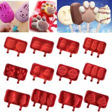 Pop Popsicle Silicone Frozen Lolly Mould Ice Cream Ball Maker Mold Kitchen Tools
