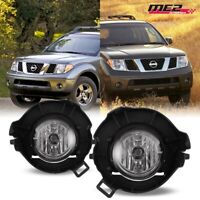 For 2005-2009 Nissan Frontier Winjet OE Factory Fit Fog Light Bumper Clear Lens