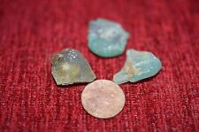 ANCIENT ROMAN GLASS  FRAGMENTS  ! 9.7 g  3 PCS  #0169