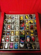 Vintage Galoob Micro Machines Lot 45x Cars Trucks Transport Stunt Jumper & Case
