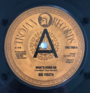 Big Youth What's Going On Demo Trojan 1976 Top Copy !!