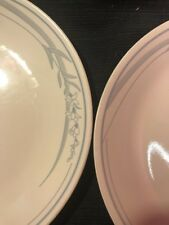 "Lot Set (4) Corelle BLUE LILY 10 1/4"" Dinner Plates"