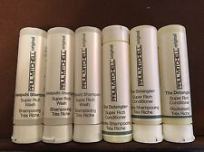Lot Of 6 Paul Mitchell Trial Size Samples, Awapuhi Shampoo And Conditioner