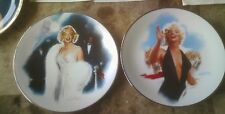 Marilyn Monroe Bradford Plate New opening night + stopping traffic Magic Of Ser