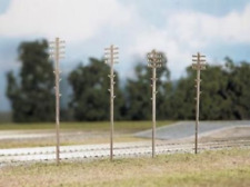 Ratio 452 Telegraph Poles (16 per pack) OO Gauge