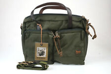 Filson Ballistic Nylon Dryden Briefcase (Otter Green)