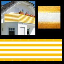 600x75cm Balkon Sichtschutz Balkonsichtschutz Balkonverkleidung Windschutz NEU