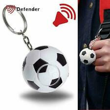 Defender Football Shaped Personal Safety Attack Alarm Key Chain Keyring