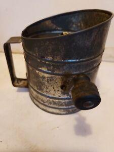 Antique GEM 1 Cup Flour Sifter