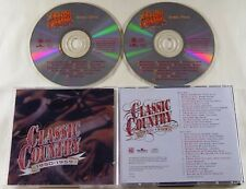 Lot Of 2 CLASSIC COUNTRY - 1950-1959 - 30 Tracks On 2 CD's Time Life  Cline Cash