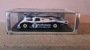 Spark 1:43 Porsche 962 1986 Le Mans 24 Hours #2 Wollek / Mass / Schuppan