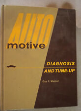 Vintage 1969 Automotive Diagnosis and tune-up book
