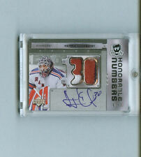 HENRIK LUNDQVIST 06-07 UD The Cup HONORABLE NUMBERS AUTO/PATCH SP/30 #HN-HL RARE
