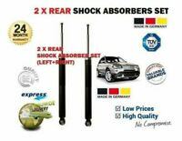 FOR BMW E83 X3 + XDRIVE 4x4 2004-> 2x REAR LEFT RIGHT SHOCK ABSORBER SHOCKER SET