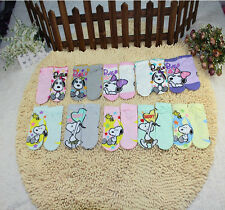 GOOD QUALITY SNOOPY 3 PAIRS LOTS COTTON ANKLE SOCK SIZE (SHOE 22-24CM )