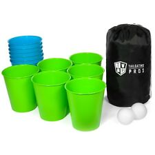 Tailgating Pros Giant Lawn Pong W/ Carrying Case