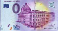 BILLET 0  EURO  BERLINER SCHLOSS ALLEMAGNE 2017-2  NUMERO 1976