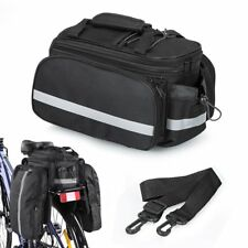 Bicycle Bike Cycle Rear Rack Bag Removable Carry Carrier Saddle New Bag Pannier