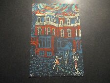 "JAMES EADS Print MICROVISIONS 4X6"" poster art SIGNED 14"