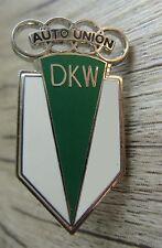 DKW Auto Union-logo con tappo a vite-nessun pin-SMALTATO-RAR